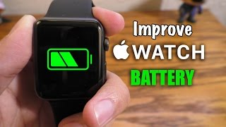 Improve Apple Watch battery life (Tips & Tricks)