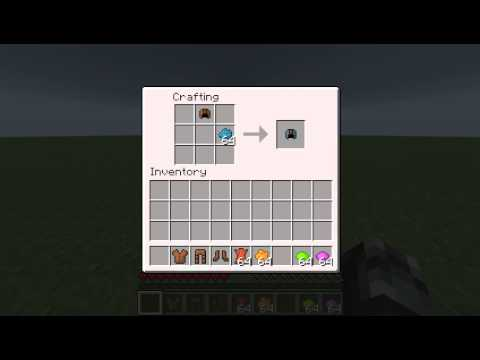 ::Minecraft:: How To Dye Leather Armour
