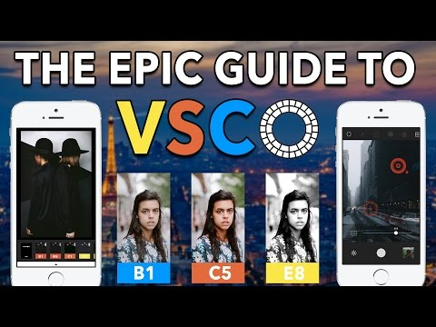 The Epic VSCO App Tutorial - Learn to Master VSCO on iPhone & Android