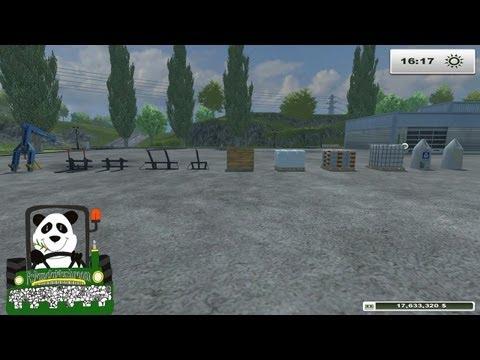 Farming Simulator 2013 Mod Review Bulk Handling Equipment(EN)