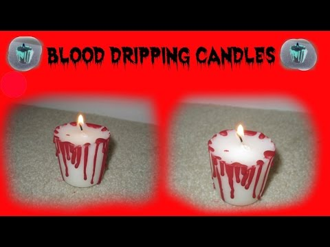 Blood Dripping Candle