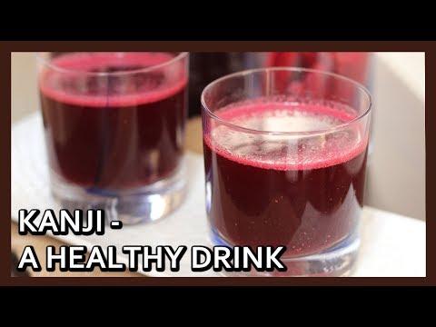 Kanji Recipe | Black Carrot Drink | Healthy Digestive Drink | Holi Special Drink | Healthy Kadai