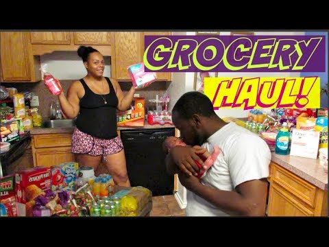 HEB Grocery Haul FOR A FAMILY OF 6! | Mommy Of Newborn Twins