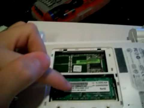ASUS EeePC 900a Ram And Harddrive Upgrade