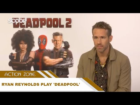 Ryan Reynolds cuts off body parts all day if he was Deadpool - Action Zone