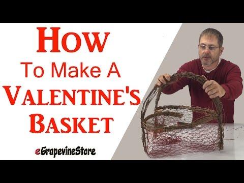 How to Make A Heart Basket