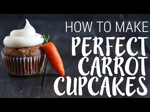 How to Make PERFECT Carrot Cupcakes | Spring Recipe
