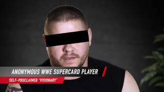 WWE SuperCard Season 3 Confessional - Anonymous Visionary