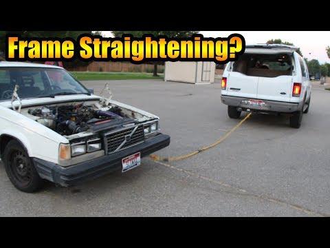 CRASHING MY CAR ON PURPOSE?!