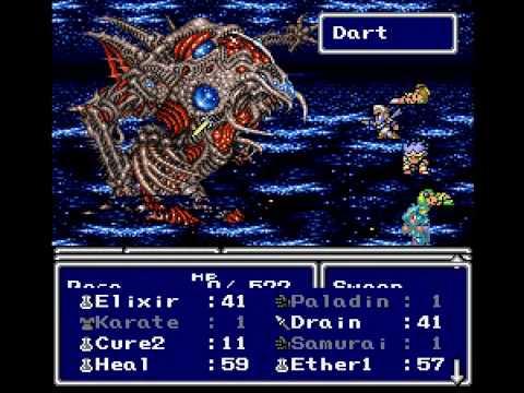 FF4 Zeromus Fight (w/ Excalibur)