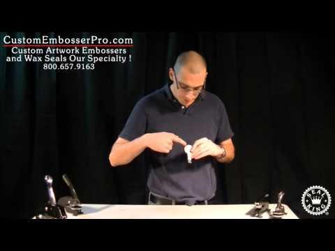 Custom Embosser Pro: How To Install a Hand Held Embosser Clip