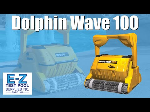 Maytronics Dolphin Wave 100 Robotic Pool Cleaner