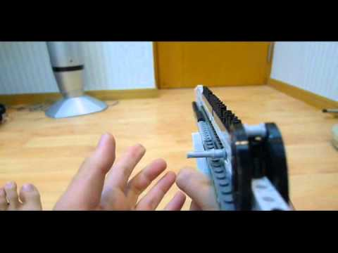 Cool Lego rubberband gun