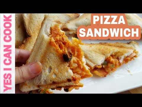 Pizza Sandwich (Ramadan Special) by YES I CAN COOK
