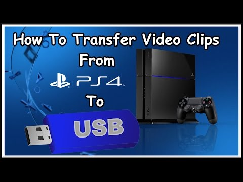 How to Copy Video Clips From Your PS4 to a USB Memory Stick