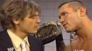 William Regal challenges Randy Orton
