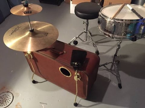 How To DIY Suitcase Kick Drum - Part 4: Add-ons and Accessories