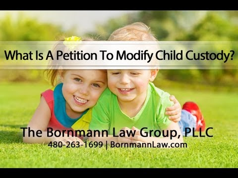 What Is A Petition To Modify Child Custody?