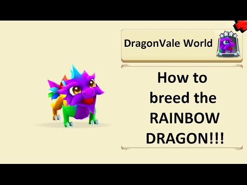 Breeding the Rainbow dragon in DragonVale World
