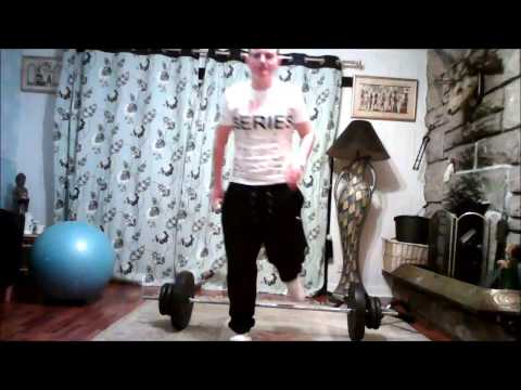 How to get strong legs for football - Barbell Deadlift