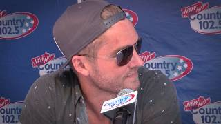 Brett Young Interview - CMF 2017