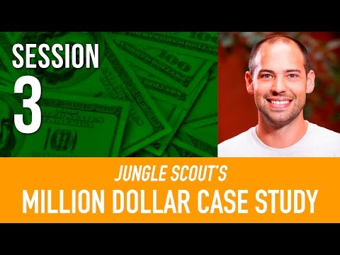 FIND A SUPPLIER for Amazon FBA 🚢  Million Dollar Case Study | Jungle Scout I Session 3
