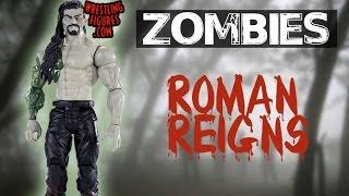 WWE FIGURE INSIDER: Roman Reigns - WWE Zombies 1 - Wrestling Figure By Mattel