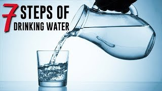 7 Steps || How to Drink Water According to Islamic Sunnah [UPDATED 2017]