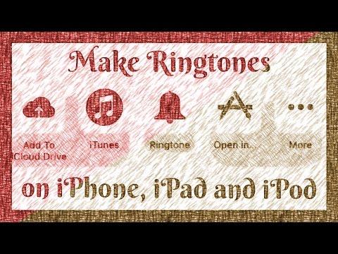 Create Ringtones using GarageBand App - (Easy Method!) 2017