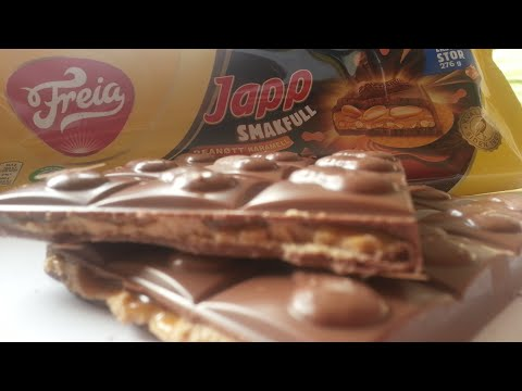 Freia Milk Chocolate Filled With Peanuts in Caramel and a Peanut Filling With Peanut Pices