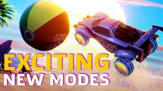 Rocket League's New DLC Modes Are Loads Of Fun