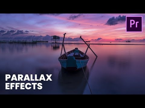 Easy Parallax Effects  | Premiere Pro Tutorial