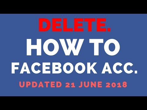 How to Delete Facebook account permanent 2017 | 100% working Latest