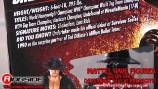 Undertaker Mattel WWE Elite 1 Toy Wrestling Action Figure - RSC Figure Insider