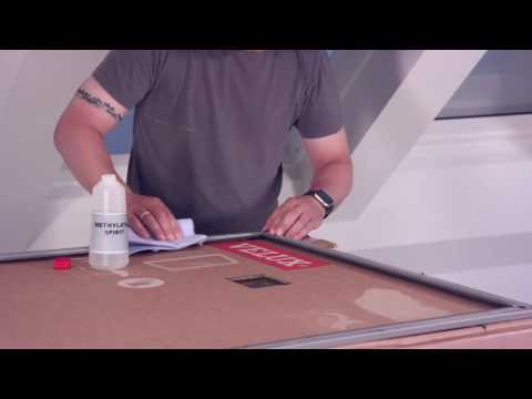 VELUX roof window – replacement of pane (glazing unit)