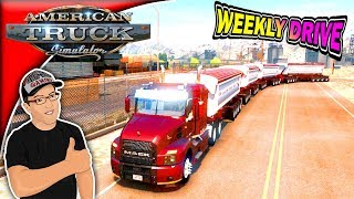 American Truck Simulator Mach Anthem Weekly Drive 145 Tons