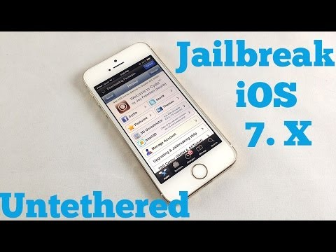 How to Jailbreak iOS 7 (up to 7.0.4) Untethered with Evasi0n Tool