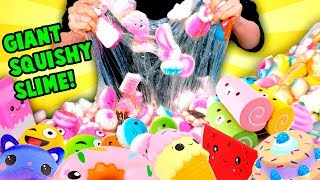 Download Adding Too Much Ingredients To Slime... But Using Squishies! Video