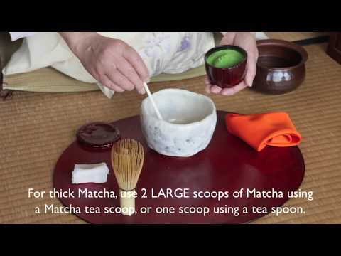 How to make Matcha (Traditional Japanese Green Tea)