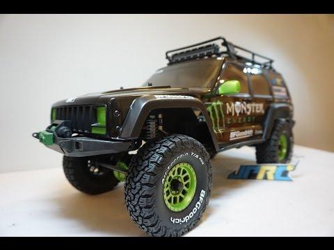 Monster Energy Jeep Cherokee  Axial SCX10 II JPRC Build