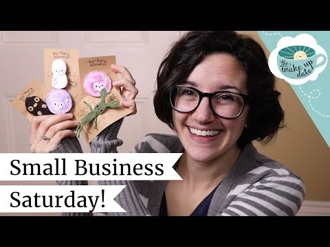 Small Business Saturday Update - Handmade Pins Available Now!   Wake Up Date #36