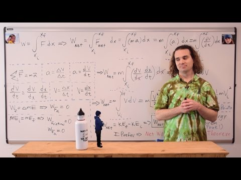 Deriving the Work-Energy Theorem using Calculus