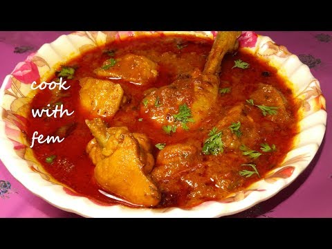 Indian Chicken Curry    Simple Chicken Curry For Bachelors and Beginners - With English Subtitles
