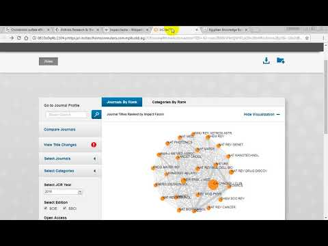 Impact factor: springer  - Web of science