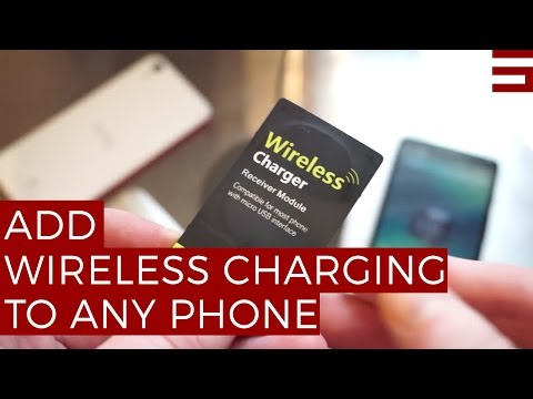 How to add wireless charging to the HTC One (M8) or any Android smartphone