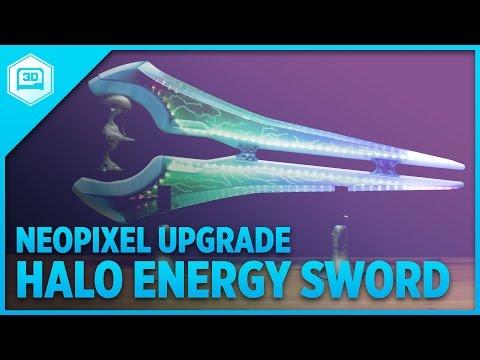 Toy Modding: Energy Sword NeoPixel Upgrade