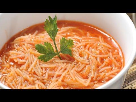 SOPA DE FIDEO facil y deliciosa la tradicional sopa mexicana #sopadefideo