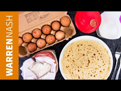 How to make Pancake Batter IN SECONDS - Recipes by Warren Nash