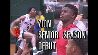 Zion Williamson vs Jalen Lecque!! Battle Between Two Future PROS?! Full Highlights