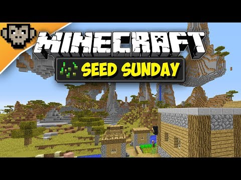 Minecraft 1.12.2 | Savanna M Village | Seed Sunday - Ep252